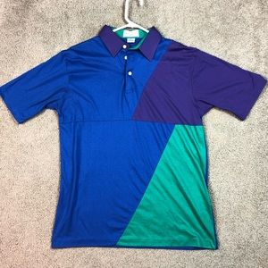 Vintage 90s Single Stitch Golf Polo